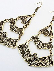 Drop  Earrings  Lady  Girls' Alloy  Fashion in  Euramerican Vintage Carve Patterns or Designs  Drop Earrings Halloween Party Congratulations  Jewelry