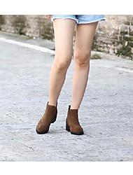 Bottes de femme allumer chaussures matériel personnalisé casual kaki noir