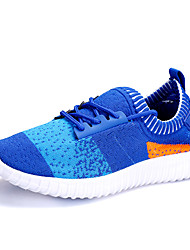 Hot Sale Children Flyknit Tulle Shoes Lace-up Sneakers Light Soles Light Up Sneakers Spring / Summer Comfort Design Outdoor / Funny Size EU 25-37
