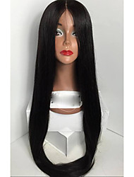 Top Quality 100% Brazilian Virgin Hair Wig Skily Straight Human Hair Wigs Glueless Silk Base Full Lace Wigs For Woman With Baby Hair