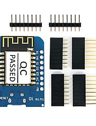 Esp8266 esp-12f d1 mini wi-fi módulo de desarrollo de módulo utilizable para arduino ide w / ch340g driver