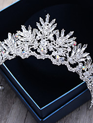 Головной убор сплава кристалла rhinestone-wedding специальный случай напольный tiaras headbands штырь волос 1 часть