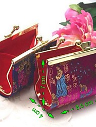 Recipient Gifts - 1Pcs/Set Asian Coin Purse Candy Favor Box Bridesmaids Shower Favors Random Color Shipping