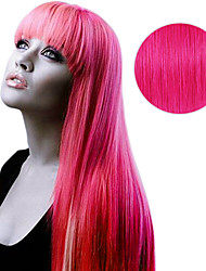 20PCS Tape In Hair Extensions Pink Fetish 40g 16Inch 20Inch 100% Human Hair For Women