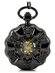 Мужской Часы со скелетом Карманные часы Механические часы Кварцевый Механические, с ручным заводом Нержавеющая сталь Группа Бронза