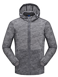 LEIBINDI® Men's Jacket Tops Hiking Climbing Hiking Breathable Quick Dry Windproof Ultraviolet Resistant Sunproof