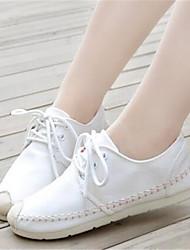Damen-Sneaker-Lässig-LeinwandKomfort-Weiß