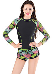 Muairen® Women'S The European And American Fashion Sexy Tight Conservative Swimwear Sport Long-Sleeved Surfing Suits