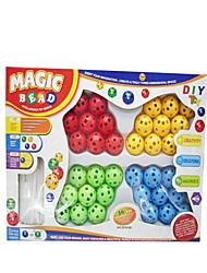 Blocos de Construir Blocos Lógicos para presente Blocos de Construir Brinquedos Criativos & Pegadinhas Circular2 a 4 Anos 5 a 7 Anos 8 a