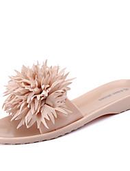 Women's Sandals Spring Summer Comfort Customized Materials Outdoor Dress Casual Flat Heel Flower
