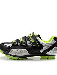 Cycling Shoes Men's Breathable Wearable Mountain Bike Road Bike PVC Leather Cycling