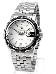 Masculino Relógio de Moda relógio mecânico Chinês Quartzo Automático - da corda automáticamente Lega Banda Prata