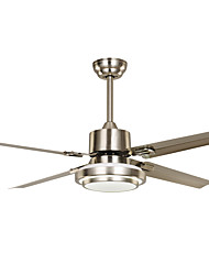 Ceiling Fan ,  Country Vintage Nickel Feature for LED Designers Metal Living Room Dining Room Study Room/Office