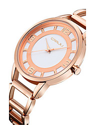 Women's Fashion Watch Quartz Water Resistant / Water Proof Stainless Steel Band Silver Gold Rose Gold Rose Gold Silver Gold