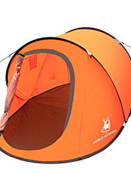 2 Personas Tienda Solo Tienda de Campaña Automática Una Habitación Carpa para camping Fibra de Vidrio OxfordImpermeable Transpirabilidad