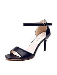Da donna-Sandali-Ufficio e lavoro Serata e festa Formale-Comoda Club Shoes-A stiletto-Finta pelle-