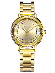 Women's Dress Watch Fashion Watch Chinese Quartz Stainless Steel Band Charm Casual Silver Gold Rose Gold