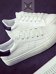 Damen-Sneaker-Lässig-PUKomfort-Weiß Schwarz/weiss Weiß und Grün