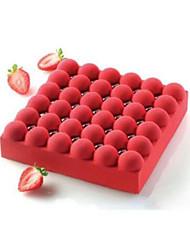 Moule de Cuisson Pour Gâteau Autre For Chocolate SilikonPapier à cuire Noël Mariage Anniversaire La Saint Valentin Action de grâces 3D