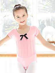 Danse classique justaucorps Enfant Coton Elasthanne 1 Pièce Manche courte