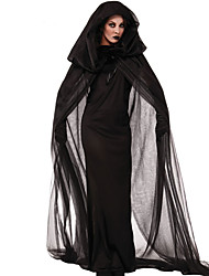 Cosplay Costumes Party  Witch Cloak Black Ghost Zombie Vampires Halloween Carnival  Dress / Cloak Halloween New Year