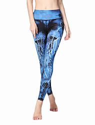 Women's Fashion Sexy Tights High Elastic Fitness Sports Yoga Leggings Size S-XL