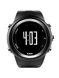 Ezon T023 correndo desporto relógio pedômetro monitor de calorias relógio digital de esportes ao ar livre em execução relógios à prova