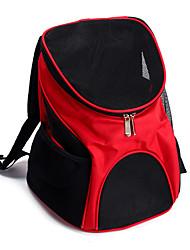 Кошка Собака Переезд и перевозные рюкзаки Животные Корпусы Компактность Дышащий Однотонный Коричневый Красный Синий Черный