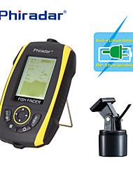 Sensor Sonar Pesca de Mar Pesca no Gelo Pesca de Carpa Pesca Geral Pesca de Isco e Barco LCD LED Branca Ligar/Desligar Sem FiosBateria