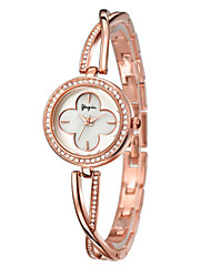 Women's Fashion Watch Quartz Alloy Band Silver Rose Gold Rose Gold Silver
