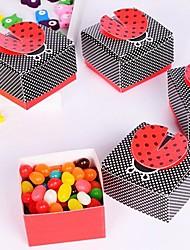 12 Шт./набор Фавор держатель-Креатив КартонКоробочки Мешочки Сувенирные шкатулки Горшки и банки для конфет Упаковка и коробки для кексов