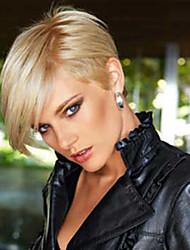 High quality Comfortable Natural Straight Short  Human Hair Wig   Woman hair