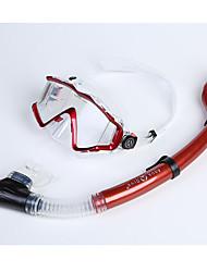 Snorkels Diving Masks Protective Diving / Snorkeling Fibre Glass silicone Neoprene