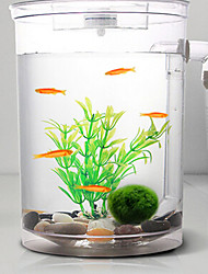 Décoration d'aquarium Mini aquariums OrnementsComprend Interrupteur(s) Ajustable Noctilumineux D'air Sans Bruit Non toxique & Sans Goût