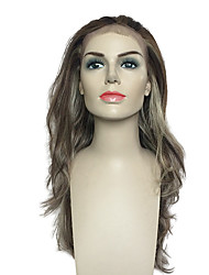 Women Lace Front Wig Synthetic Wig Heat Resistant Deep Wavy Women Costume Wig