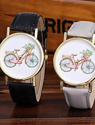 Ladies Fashion Quartz Watch Women Bicycle Leather Casual Dress Women's Watch Reloje Mujer Montre Femme