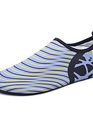 Masculino-Mocassins e Slip-Ons-par sapatos Solados com Luzes-Rasteiro--Tecido-Ar-Livre