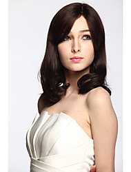 Fashion Synthetic Wigs Synthetic Fiber Curly Side-Part Bangs Heat Resistant Hairstyle For Women