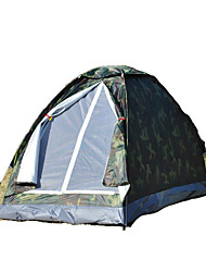1 Pessoa Tenda Único Tenda Dobrada Um Quarto Barraca de acampamento 1000-1500 mm Fibra de Vidro OxfordÁ Prova de Humidade Prova de Água
