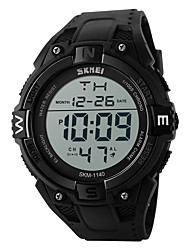SKMEI Hommes Montre de Sport Montre numérique Japonais Numérique LED Calendrier Chronographe Etanche penggera Chronomètre Noctilumineux