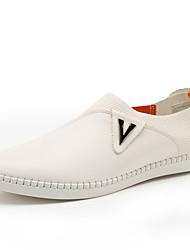 Herren-Sneaker-Lässig-PUKomfort-Weiß Schwarz Orange