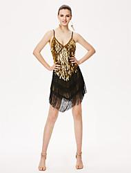 Devrions-nous des robes de danse latines, une tenue féminine, une robe haute
