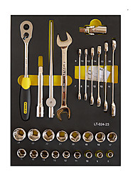 STANLEY Tool Set 12.5 mm Series Metric LT-024-23 Double Open Wrench 6 Angle Sleeve