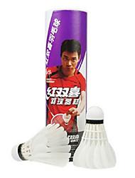 6 Badminton volantes de penas Á Prova-de-Água Durabilidade para Penas de Ganso