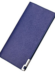 Sell Like Hot Cakes Men PU Polyester Formal Event/Party Office & Career Wallet All Seasons