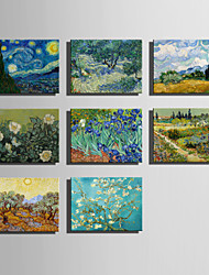 The Logicians Oil Painting Engraved Canvas Print Wall Art Vincent Van Gogh  2  Multi Style Selection