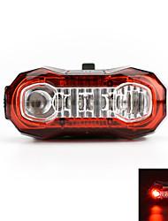 Luzes da cauda LED LED Ciclismo Recarregável Super Leve Atenção USB Lumens USB Vermelho Ciclismo Exterior