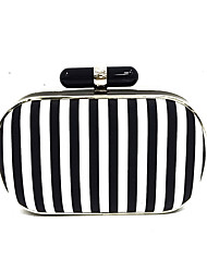 Women Black White Evening Clutches