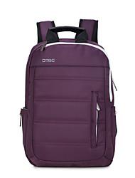 Dtbg s8252w sac à dos en cuir de 14 pouces imperméable à l'eau style anti-vol respirant