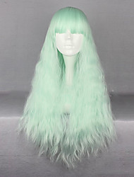 Green Lolita Wig  Curly Long Hair  Costume Cosplay  Wig